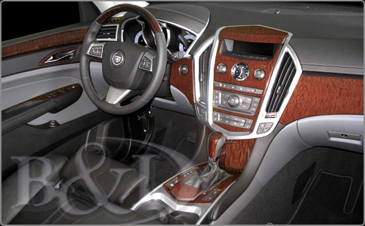 2D Wood Grain Dash Kits
